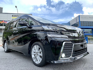 car for rent vellfire