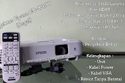 Proyektor Epson EB-X400 (Bekas)
