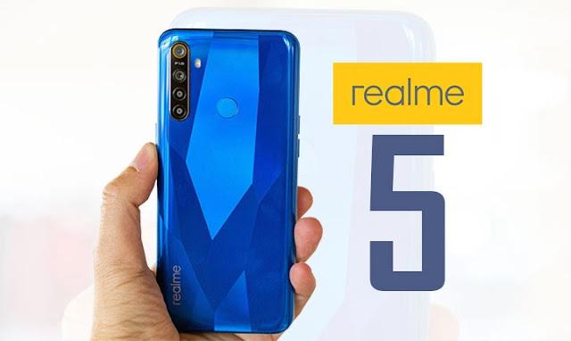 سعر و مواصفات Realme 5 مميزات و عيوب