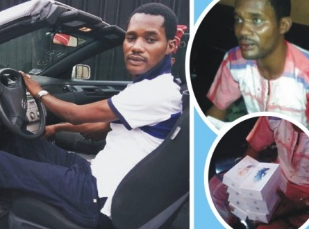 seun egbegbe arrested for robbery