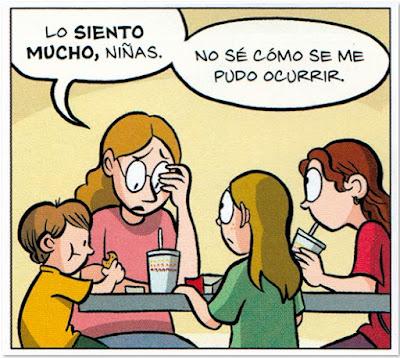 Comic Reina Telgemeier Drama Novela Gráfica juvenil  viñeta