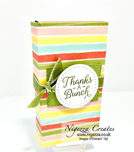 Nigezza Creates With Stampin Up Bird Ballad gift box