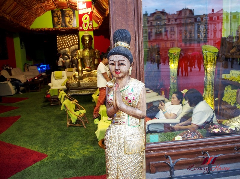 praha old town square thajsky raj body massage