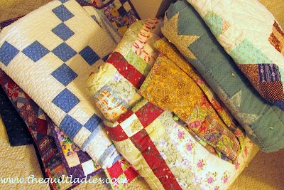 pile of quilts to sleep under
