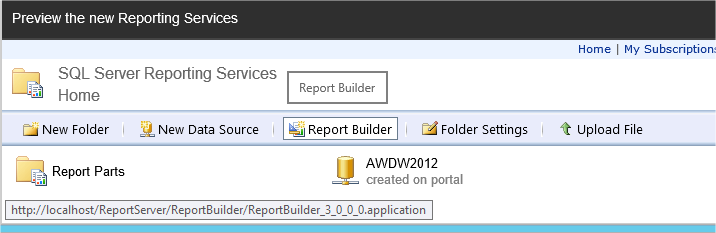 Realized Design: SSRS 2016 - stand alone Report Builder gets