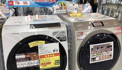 ドラム洗濯乾燥機 NA-VX800AL-W 購入レビュー 2020/1/2