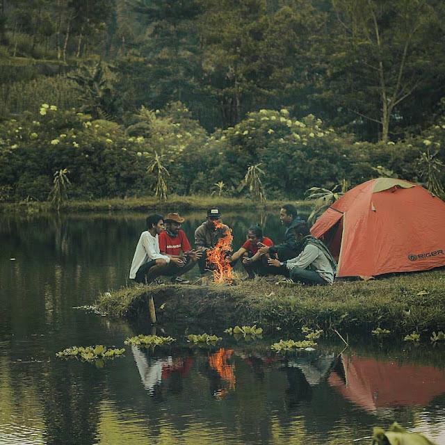 Camping di Telaga Madirda Karanganyar