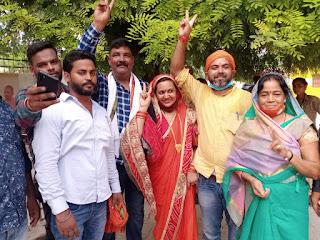 #JaunpurLive :पुराना किला तोड़ने में कामयाब रही भाजपा, मंजू सिंह बनी ब्लॉक प्रमुख