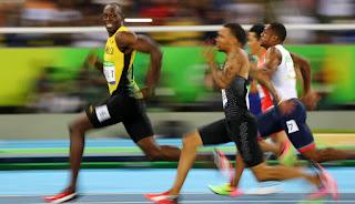 100 metre erkek koşucular, asafa powell, atletizm, buruny surin, donovan bailey, justin gatlin, maurice gereen, nesta carter, steve mullings, tyson gay, usain bolt, yohan blake,