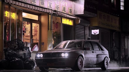 Big Apple Outlaw: A Day Into Night | Magnus Walker fährt einen Lancia Delta HF Integrale Evo durch NYC