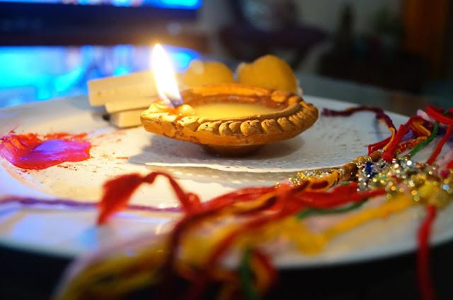 Indian festival,bengal festival,raksha bandhan,lamp,rakhis