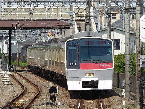 【ダイヤ改正前に運行終了!】8000系赤塗装の特急 海老名行き