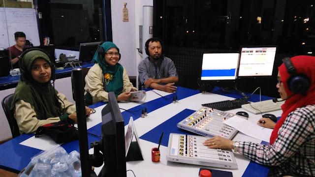KIM Swaraguna Menjadi Nara Sumber Di Radio Suara Surabaya