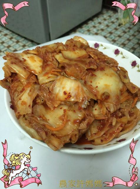 消油解膩der~韓式泡菜~保證好吃!!