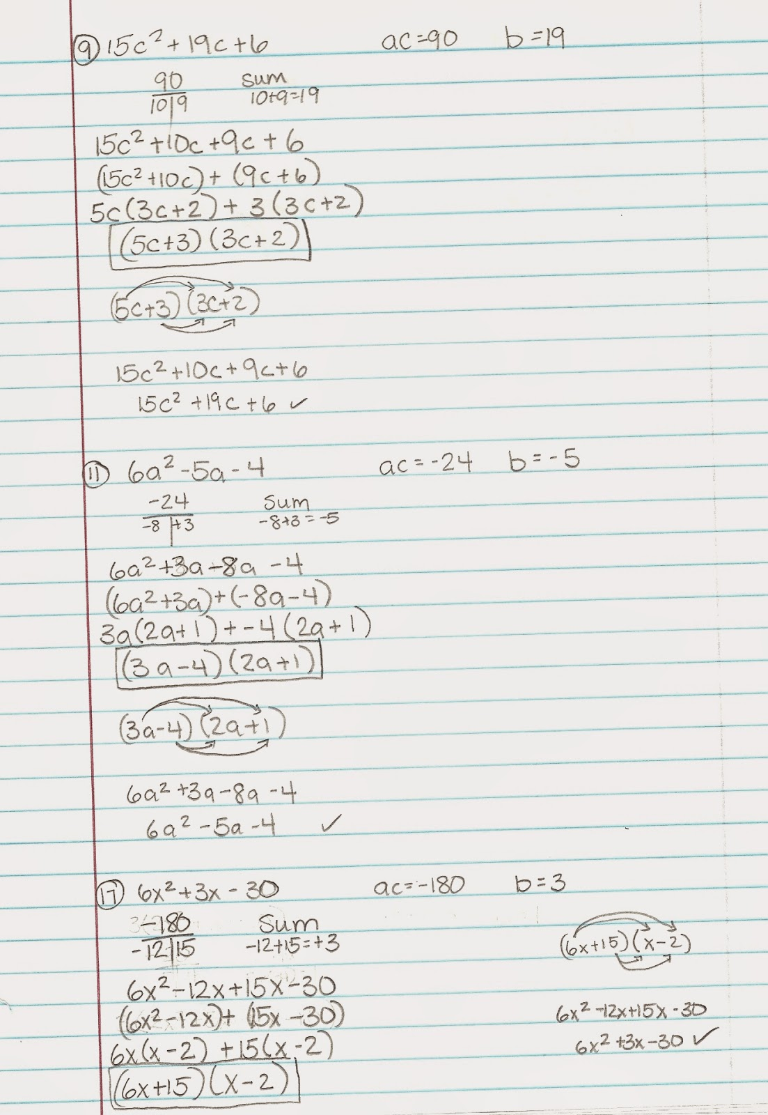 Algebra Alerts (Algebra 1 and 2): Algebra 1: Lesson 10.3