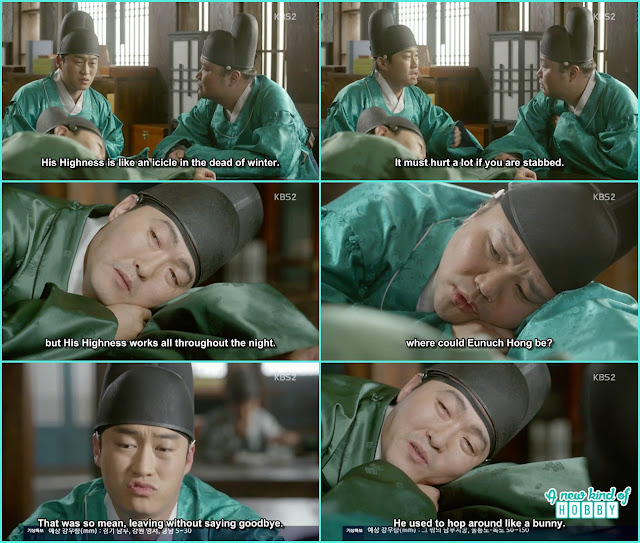 palace Eunuch missing ra on  - Love In The Moonlight - Episode 14 Review (Eng Sub) - park bo gum & kim you jung