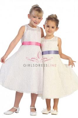 fotos de Vestidos tejidos de niña