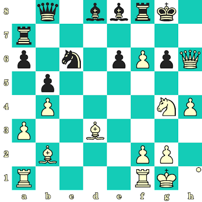 Les Blancs jouent et matent en 2 coups - Murtas Kazhgaleyev vs Devarajen Chinasamy, Bakou, 2016