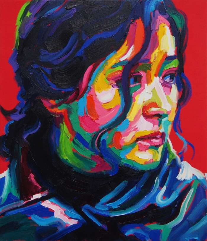 Южнокорейский художник. Sujeng Ga