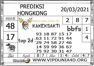 Prediksi Togel HONGKONG DUNIA4D 20 MARET 2021