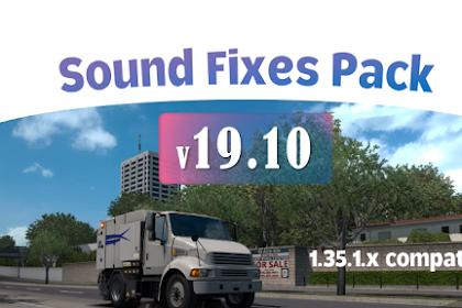 Sound Fixes Pack v19.10