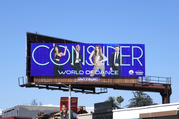 Consider World of Dance 2018 Emmy billboard
