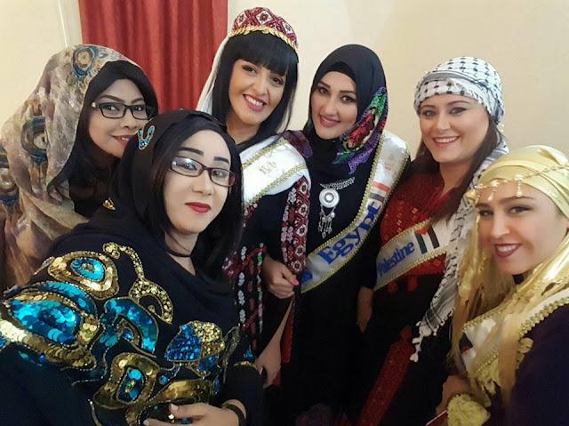 نضال النعيم تتأهل الي المرحلة النهائية في برنامج الملكة بالقاهره