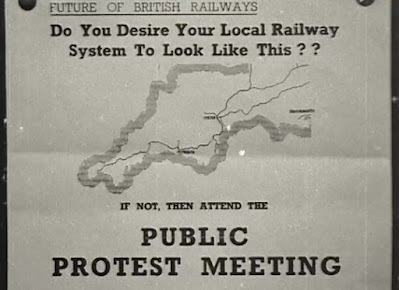 Inquiry at Tiverton into the Rail Closure Proposals in 1962
