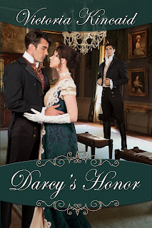 Book cover: Darcy's Honor by Victoria Kincaid