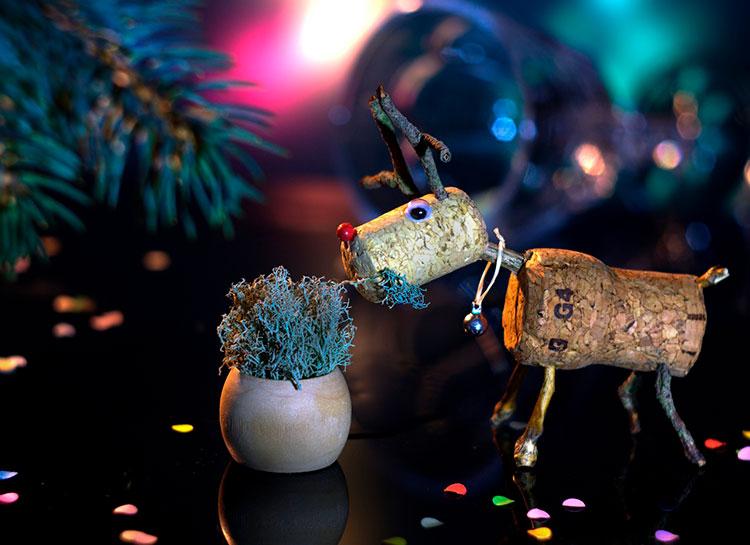 Ideas para crear tu propio Rudolph o reno de Navidad