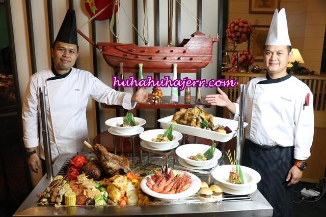 4-IN-1 BUFFET DINNER DI RESTORAN ROYALE SONGKET