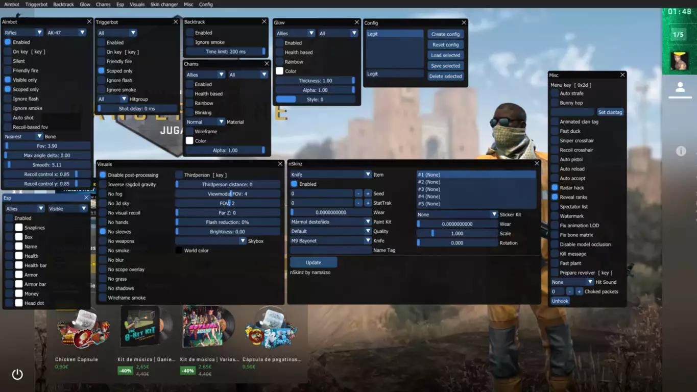 Counter-Strike: Global Offensive: Osiris Multihack (30/04/2021)