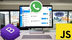 WhatsApp Chat App with PHP, MySQL, Javascript, Bootstrap 4