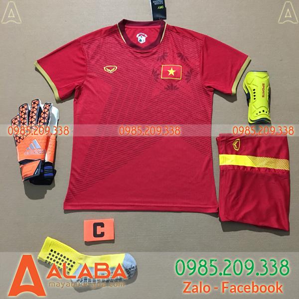 Áo Việt Nam 2020 Sân Nhà Màu Đỏ