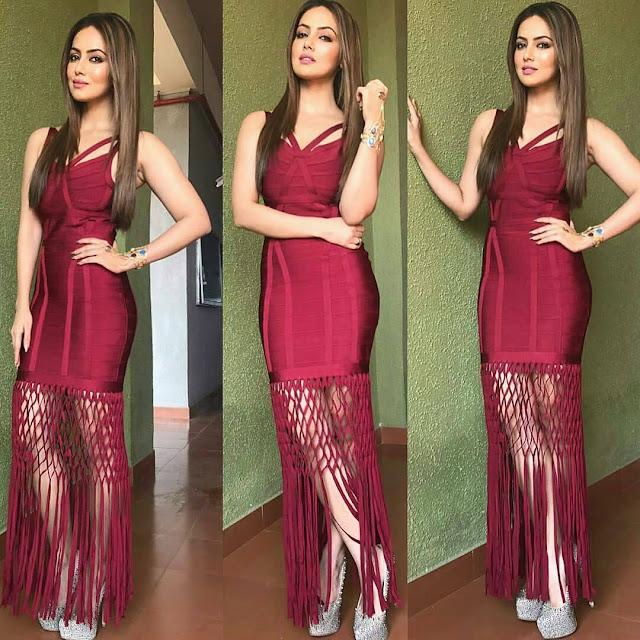 Wajah tum ho Actress Sana Khan is Total Stunner