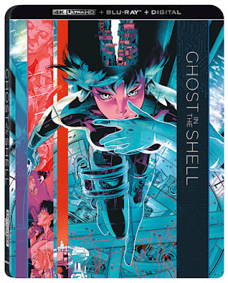 Lionsgate Ghost in the Shell Anime 4k Blu-ray