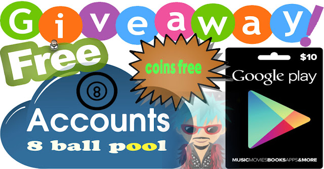 giveaway 8 ball pool