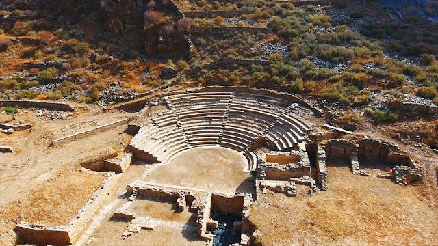 Η αρχαία πόλη της Καρθαίας -Προμαχώνας του Παλατιού του Μεγάλου Μαγίστρου στη Ρόδο