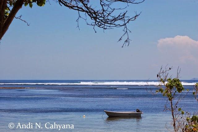Keindahan Pantai Plengkung Banyuwangi.