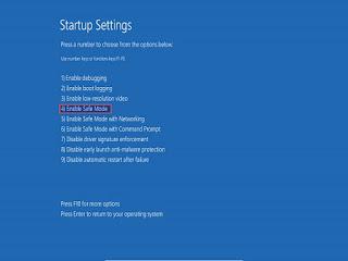 كيفية الدخول الى الوضع الآمن Safe mode فى ويندوز 8 , 8.1