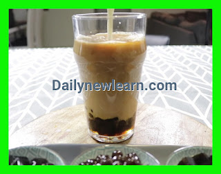 How to make bubble / Boba milk Tapioca pearls tea at home