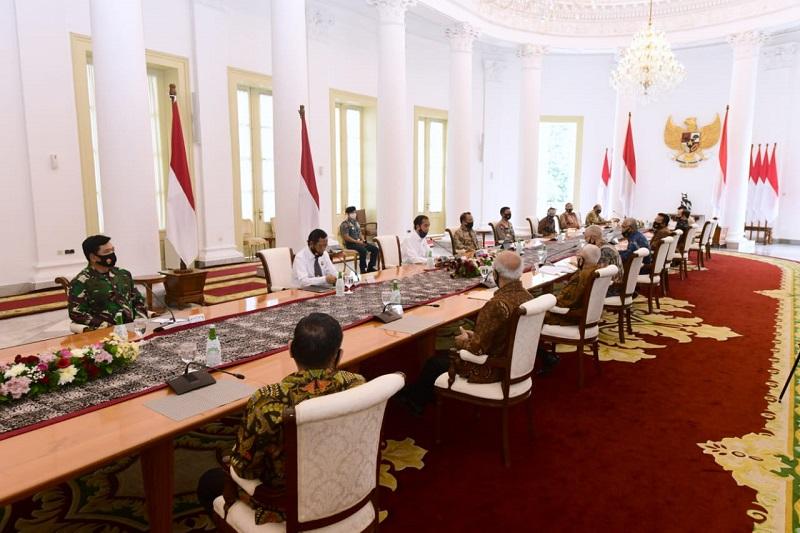 Bertemu Purnawirawan TNI-Polri, Presiden Bertukar Pandangan soal Pancasila dan Masalah Kebangsaan