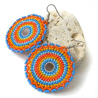 Купить украшения из бисера в этническом стиле