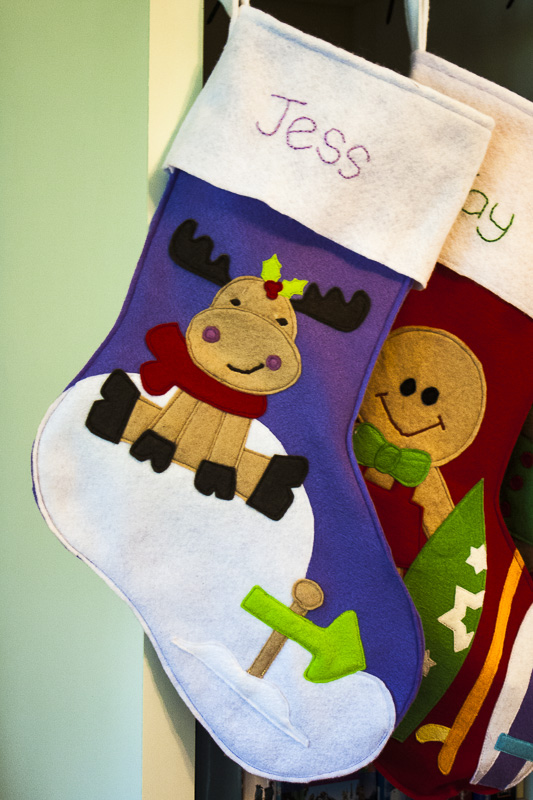 Felt Christmas Stockings  Sew can Cass