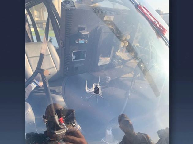 Piloto de helicóptero da Record é baleado durante voo e faz pouso forçado  -  Adamantina Notìcias