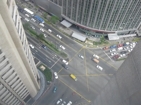 building view from the top