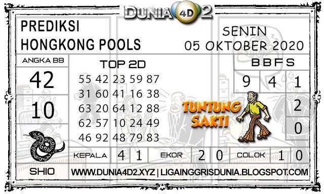 Prediksi Togel HONGKONG DUNIA4D2 05 SEPTEMBER 2020