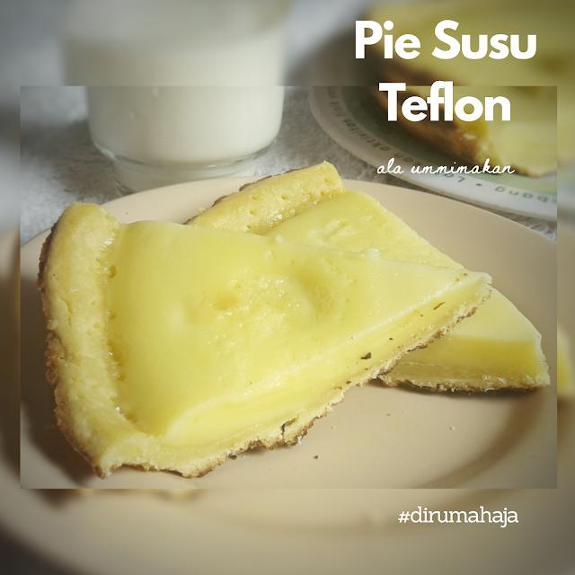Pie Susu Teflon cover
