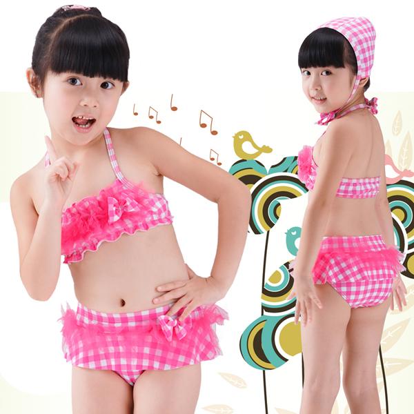 Thời trang đồ bơi bé gái xinh xắn, đáng yêu.