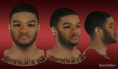 NBA 2K13 Josh Smith Cyberface Mods